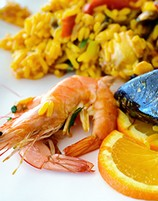 learn recipes for paella at the spanish cooking class